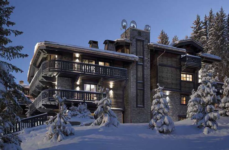 Every year millions of euros exchange hands for the facilitation of luxury rental chalets — Luxury Chalets Courchevel 1850