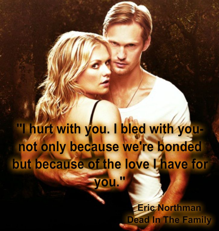 True Blood Eric & Sookie...wish the show would have followed this story line!!