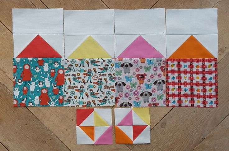 https://flic.kr/p/BSaLBa | 16 blocks January | Blocks for Nicolette. I made two small blocks rom the cut off's. Maybe you can use them as filler blocks (or not, that's ok too).