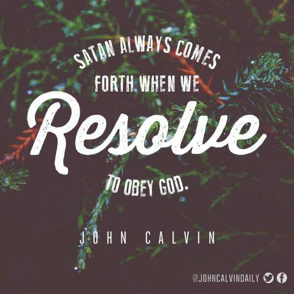 christian quotes | John Calvin quotes | obedience