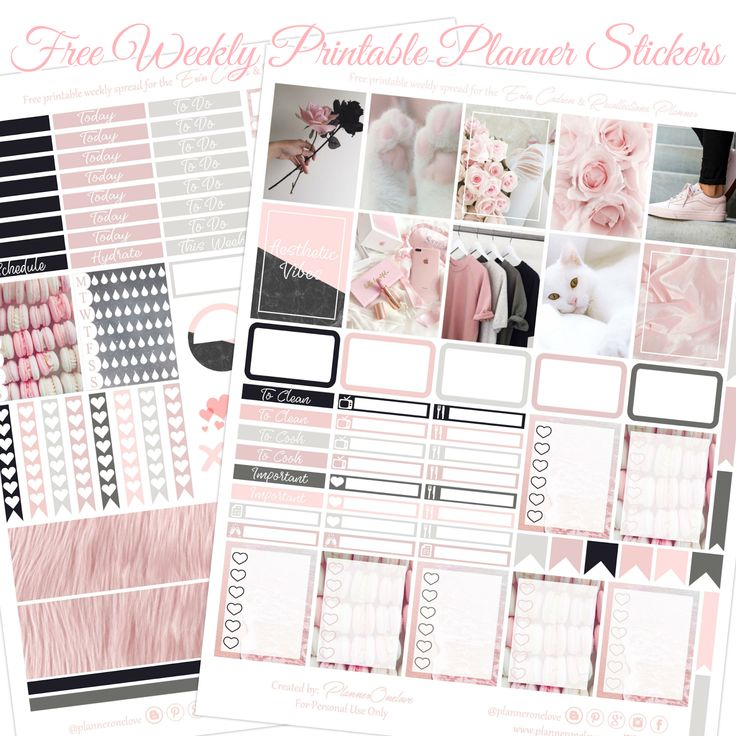 2164 best FREE Planner Stickers and Organizers images on ...