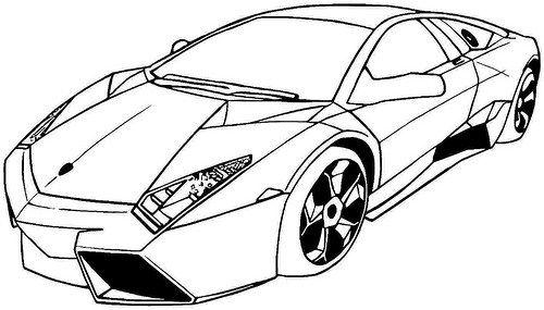 Imágenes de Carros de Carrera para Colorear: Dibujos de Autos