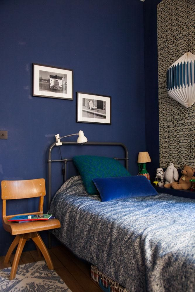 1000 images about int rieurs en couleurs colored interiors on pinterest. Black Bedroom Furniture Sets. Home Design Ideas
