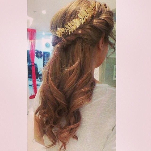 easy greek toga and hairstyles