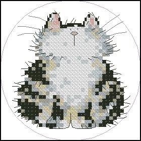 Вышивка... схемы котиков. Обсуждение на LiveInternet - Российский Сервис Онлайн-Дневников
