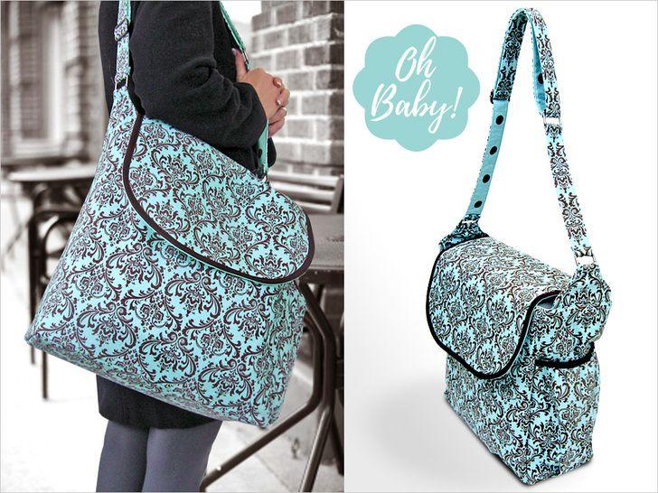 Big Amp Beautiful Diaper Bag Sew4home Babies Amp Kids