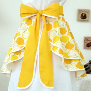 Super cute apron idea!
