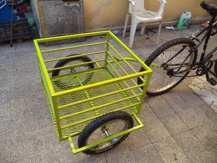 remolque para bicicleta o motoneta