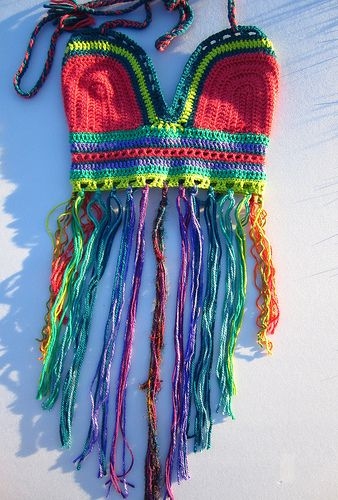 Cosmic festival halter top. Would look cute with white or black shorts.