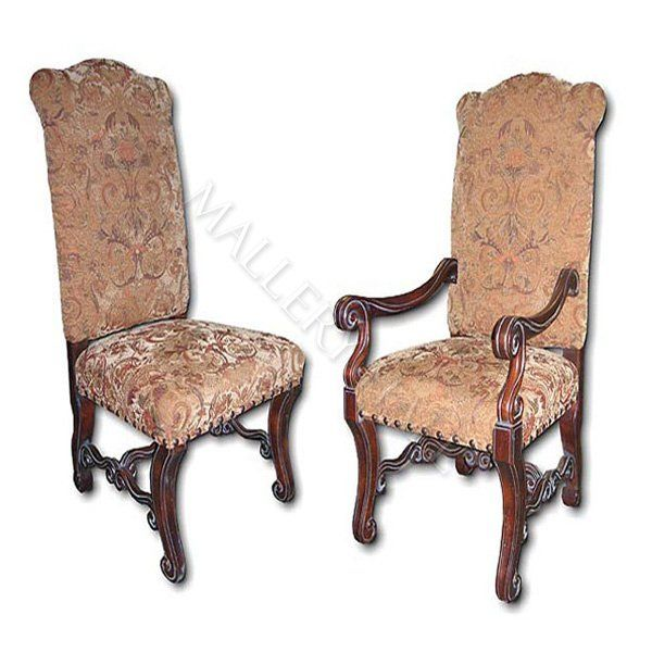Upholstered Western Dining Chairs