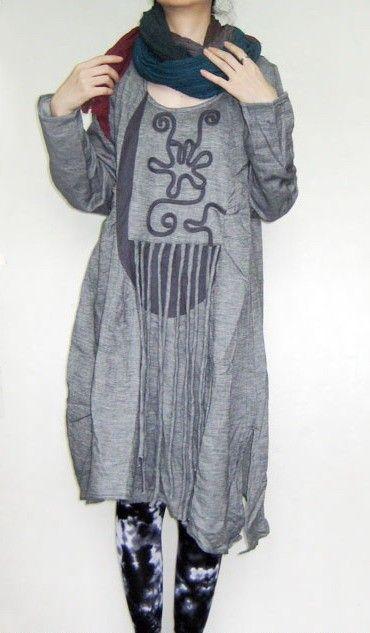Dress handmade by Kelan's Art Couture (appique linen cotton dress/2 colors/custom made).