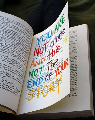 i wanna find this in my book:) hahaOld Book, Quotes Wall, Remember This, Stories, Libraries Book, Book Pages, Inspiration Quotes, Bright Colors, Altered Book