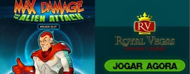 Max Damage and the Alien Attack | Casino Jogos