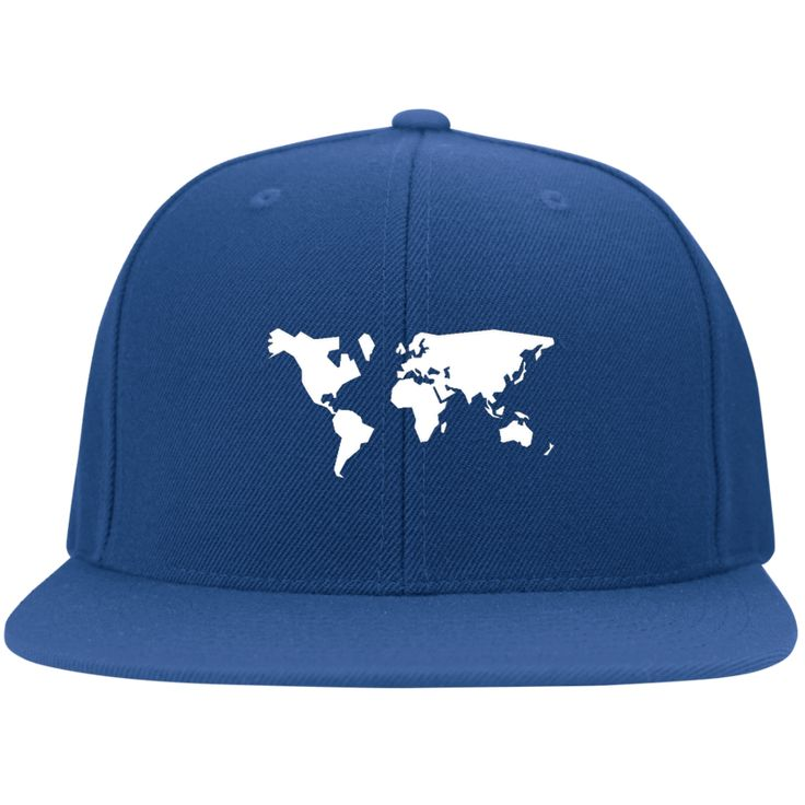 Around the World Flat Bill Cap from Munkberry. Inspired by a love of travel and adventure. These trendy hats are great for everyday, traveling, hiking, camping, outdoors, and more. Great gift idea for women. Baseball caps, hats.