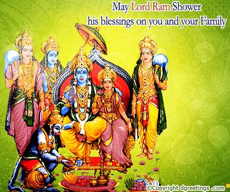 Send warm wishes on Ram Navami with this card.