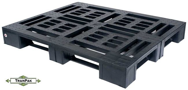 Monobloc Plastic Pallet for export and shipping