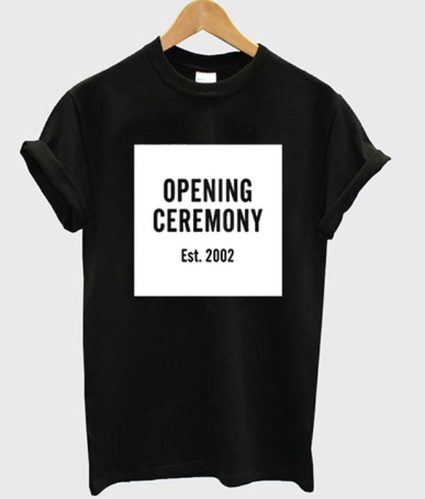 opening ceremony est 2002 t-shirt