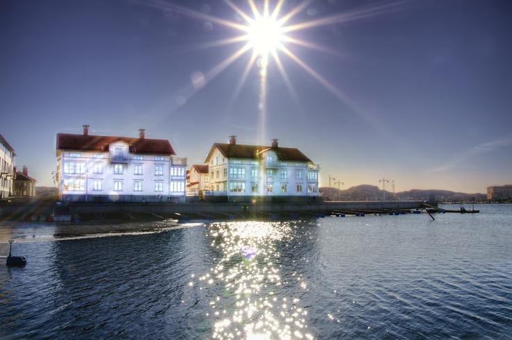 Marstrand a sunny day