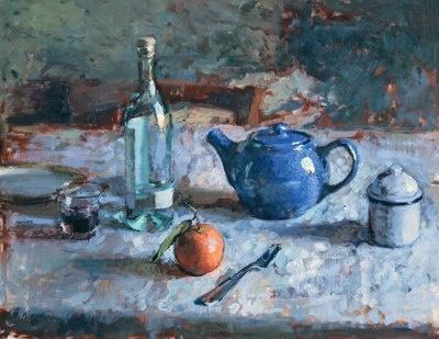 """Ben Fenske - """"Still Life with Aquavite"""": Stilllif Paintings, Life Paintings, Still Life Painting, Ben Fensk"""