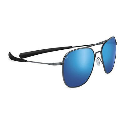 NIB Serengeti Aerial 8205 Polarized Blue Lens Sunglasses