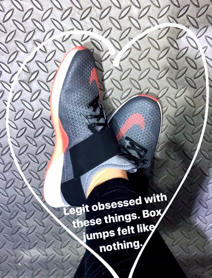 These are the BEST shoes for CrossFit!!! And so much cuter than Reebok Nanos. Nike Air Zoom Strong Training Shoes reviewsfit womens