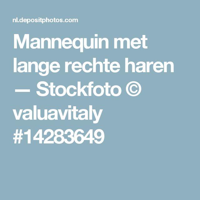 Mannequin met lange rechte haren — Stockfoto © valuavitaly #14283649