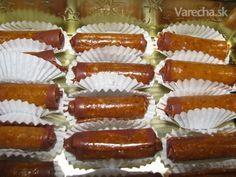 Grilážové trubičky (fotorecept) - Recept