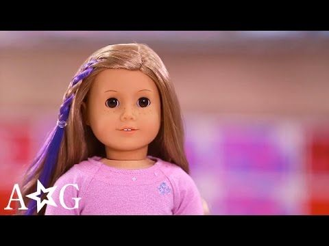 Bright Highlight Set | Doll Hair How-To | American Girl - YouTube