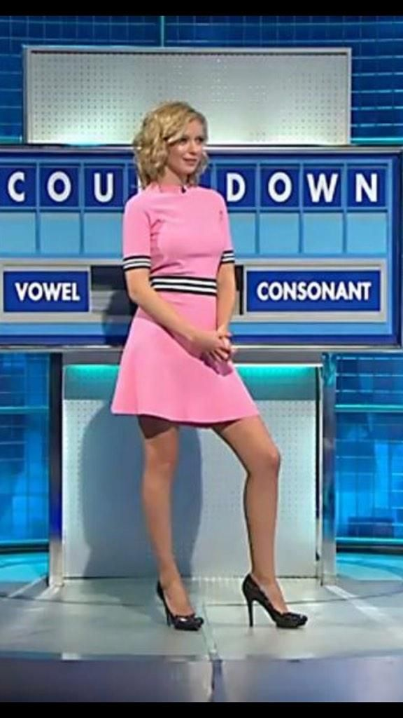 Ashley morrison news reporter pantyhose legs