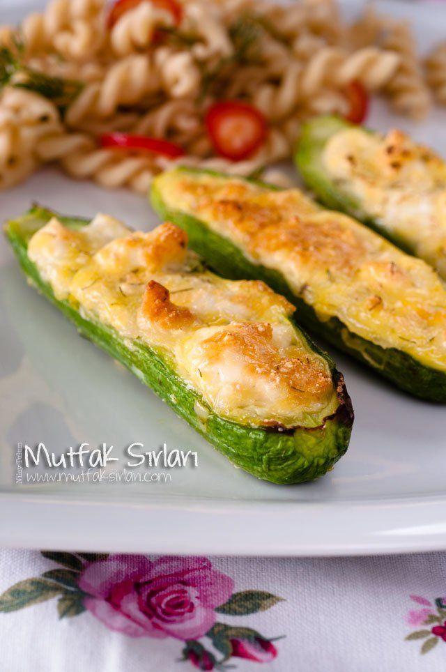 Fırında Peynirli Mini Kabak Tarifi | Mutfak Sırları