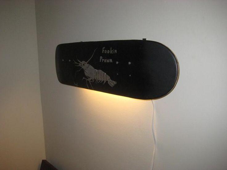 59 best skateboard m bel images on pinterest skateboard furniture skateboard and skateboard decor - Skateboard mobel ...