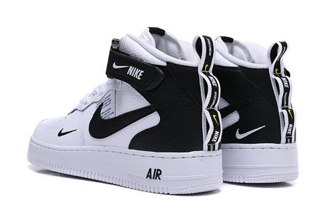 Buy nike air force 1 high black and white > Up to 35% Discounts