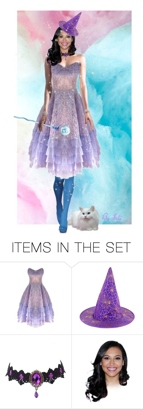 """"" PASTEL WITCH / SPRING WITCH "" - Magical Milly"" by selene-cinzia ❤ liked on Polyvore featuring art"