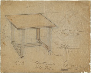 Sam ATYEO, Design for table