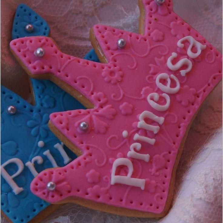 galletas corona princesa - Buscar con Google