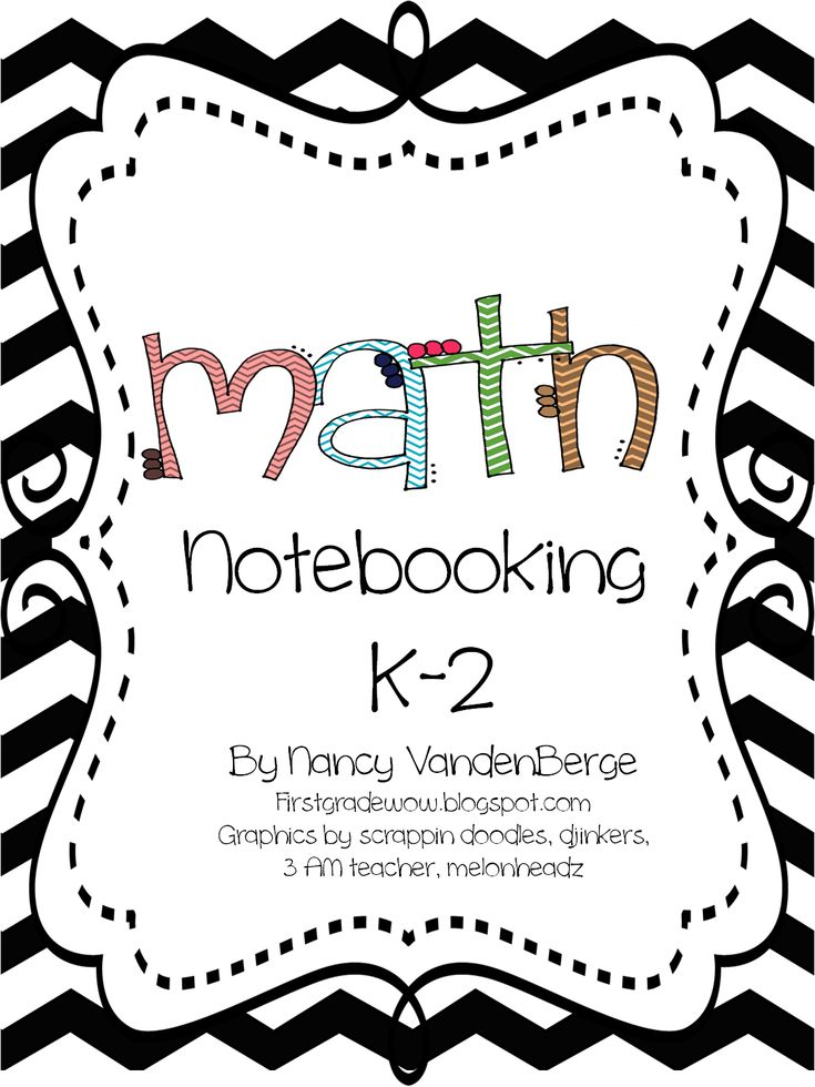 Math Notebooking K-2 (free; from First Grade Wow)