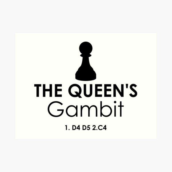 The Queen S Gambit By Metaminas Redbubble Queen Art Prints Print