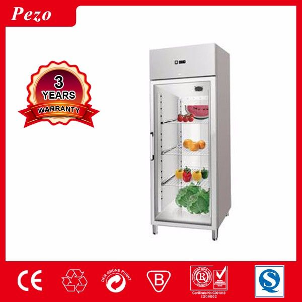 Hot sale S/S single door chiller freezer for supermarket/resterrant