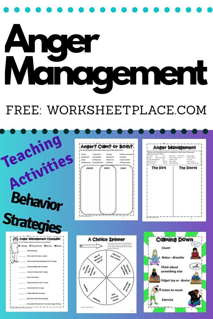 Anger Management Strategies Anger Management Activities For Kids Anger Management Skills Anger Management Strategies Anger management skills worksheets
