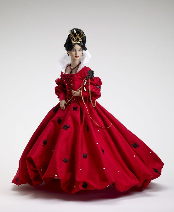 The Queen of Spades doll