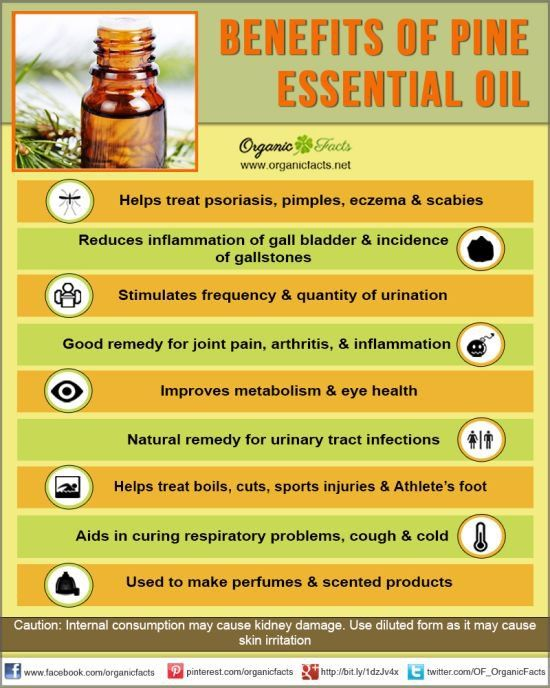 Health Benefits of Pine Essential Oil