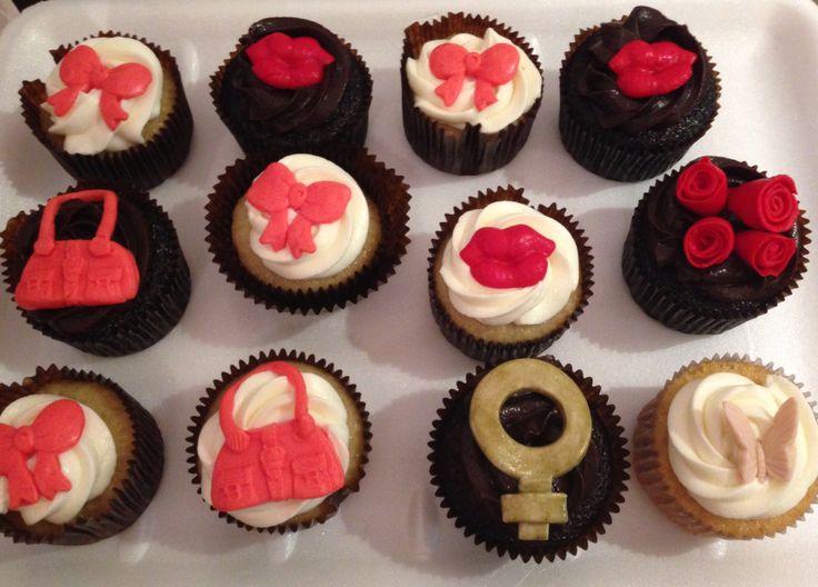 Cupcakes para damas