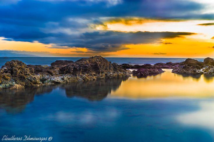 Golden Rocks by Ελεύθερος Δημιουργός on 500px