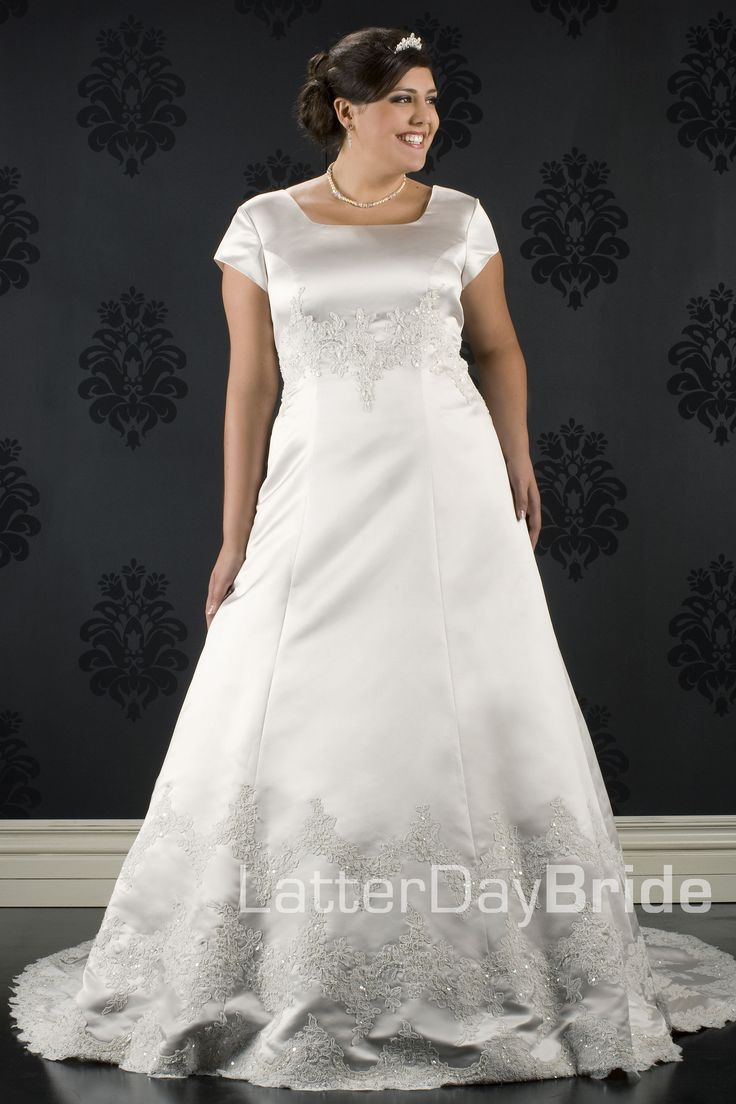 66 best Plus size Wedding Dresses images on Pinterest