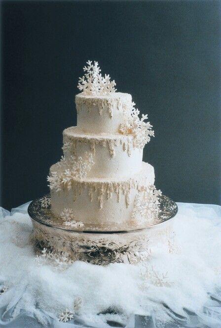 Cute winter cake