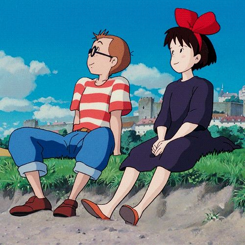 Kikis Delivery Service I just realized I've been a couple shipper ever since i was a little girl! >3 I've been a FANGIRL in general since! lol bet everyone has realized that already