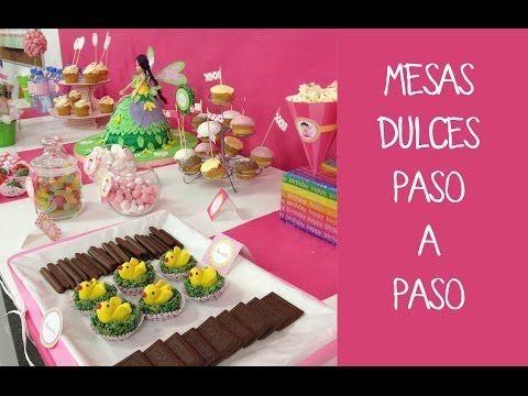Manualidades y decoracion: Como decorar una mesa de dulces para cumpleaños