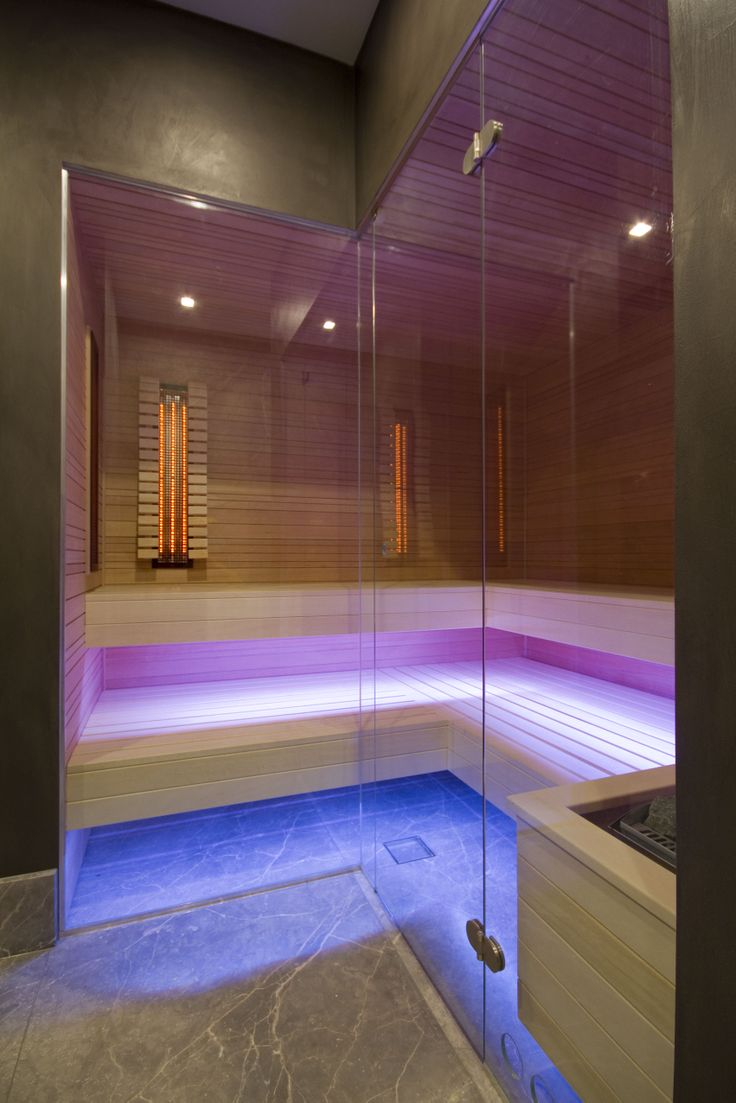 Private sauna in The Netherlands. Designed by: Wolterinck. // Realized by: 4SeasonsSpa (www.4seasonsspa-pro.com)
