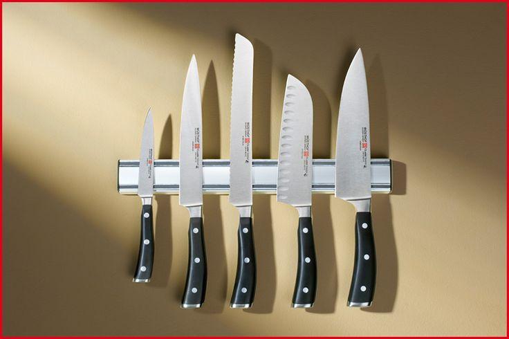 Wüsthof Magnethalter 30, 35 und 45 cm Magnethalter aus Kunststoff, verchromt. Zwei extra starke Magnete halten Ihre Messer sicher, platzsparend und übersichtlich bereit.
