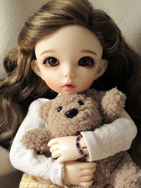 #bjd #Cute !!! >.